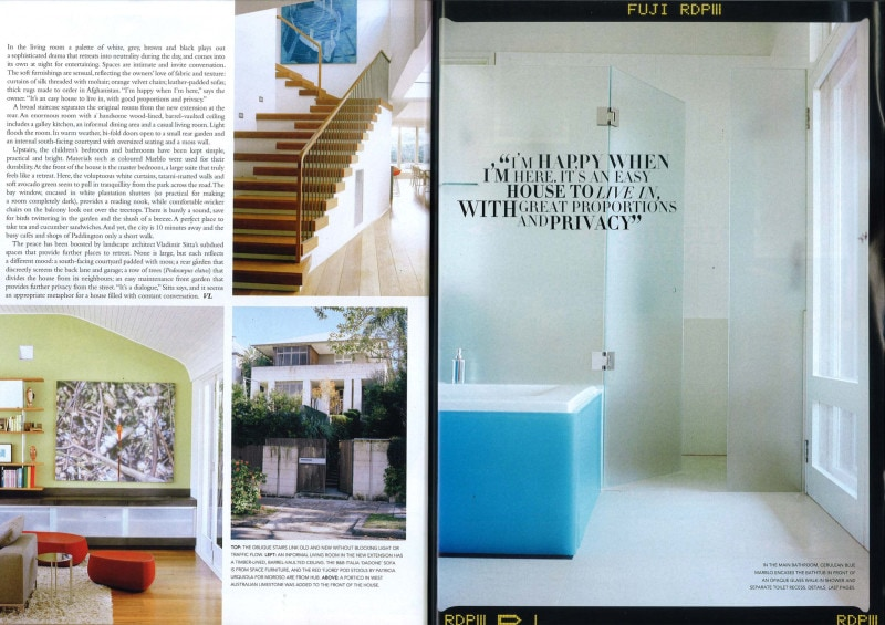 Luigi Rosselli Architects | Vogue Living 2008