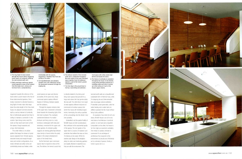 Luigi Rosselli Architects | Specifier 2011