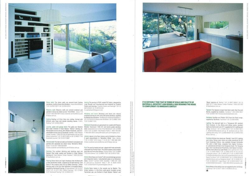 Luigi Rosselli Architects | Indesign - Elegant refuge