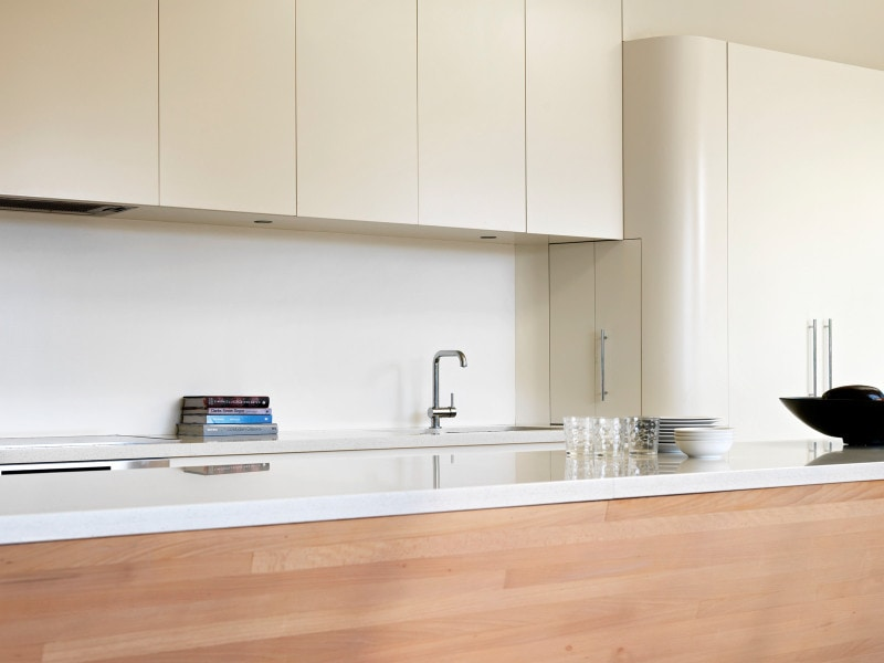 Luigi Rosselli, Kitchen, Kitchen Design, Curved Kitchen , Timber Veneers