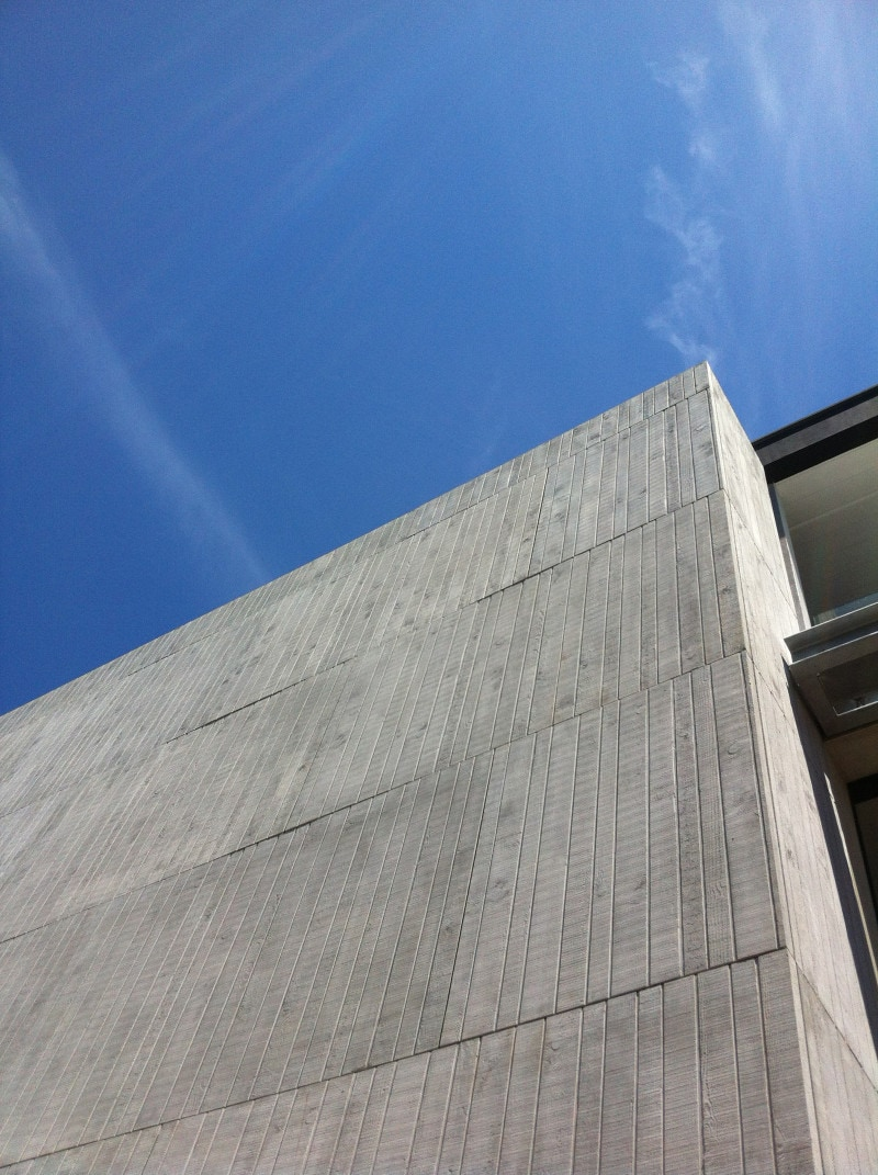 textured glass reinforced concrete (GRC)