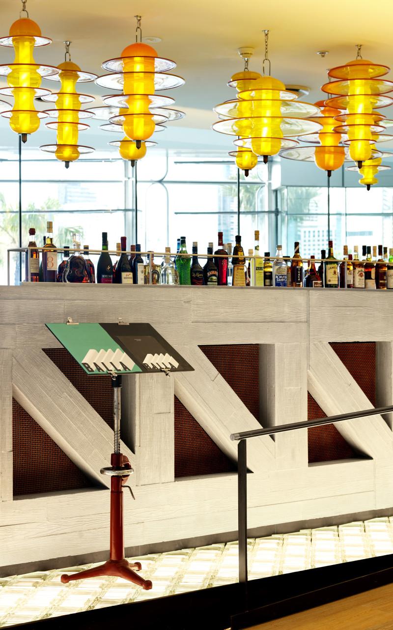 Luigi Rosselli, Glass reinforced concrete truss Sydney Resturant