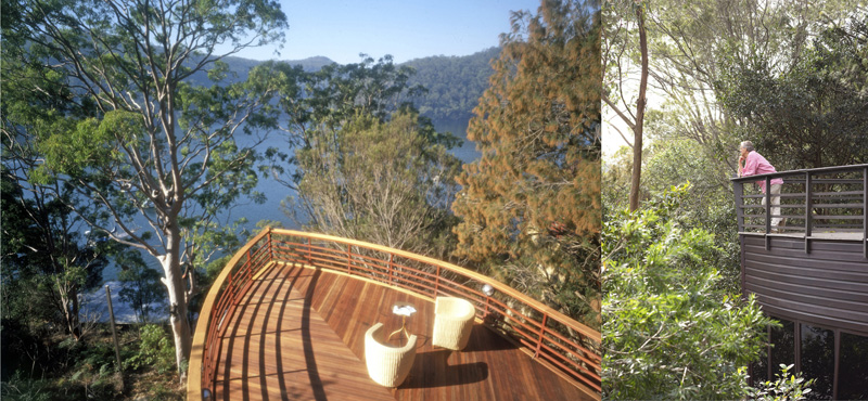 Luigi Rosselli, River House, Boat House, Timber Deck, Architecture, Hawkesbury River