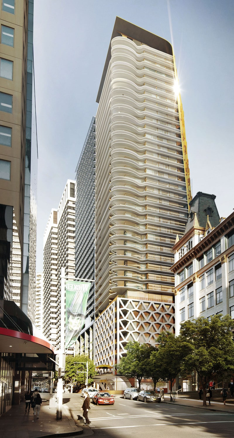 Luigi Rosselli, High Rise Tower, Render, Design, Architecture Competition