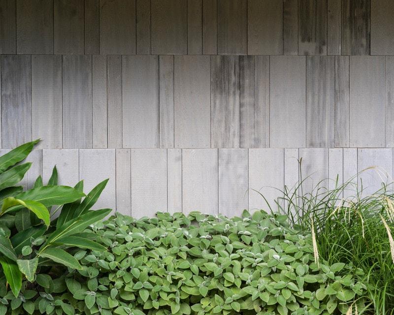 western red cedar panels concealed garage