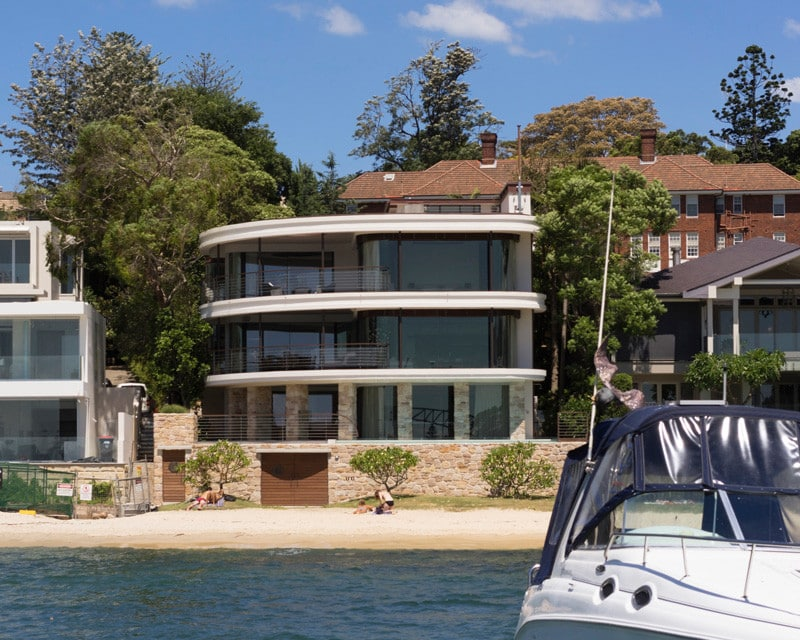 Luigi Rosselli, Renovated Art Deco House, Waterfront House, Alterations and Additions