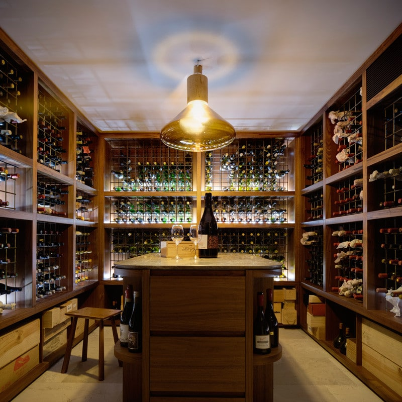 Modern Wine Cellar, Luigi Rosselli, Wine Storage