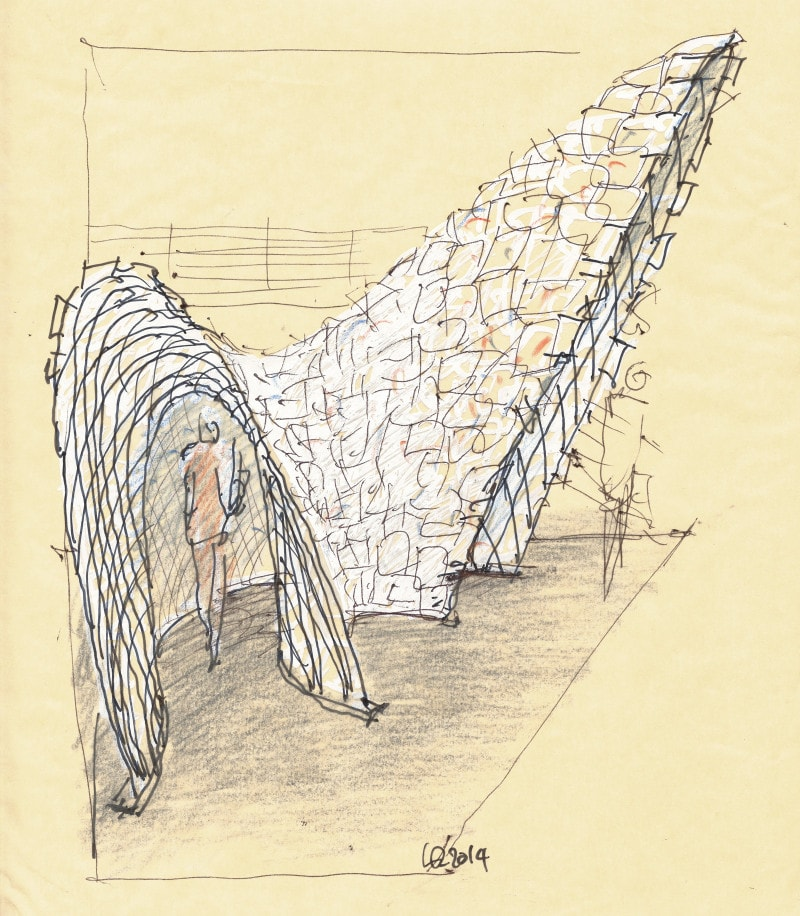 Luigi Rosselli, Sketches, Perspectives, Book, Luigi Rosselli nook, Drawing, Hand Sketching
