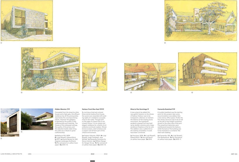 Luigi Rosselli Architects | book pages 110-111