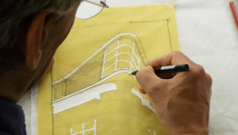 Luigi Rosselli Architects | Sketching Headshot