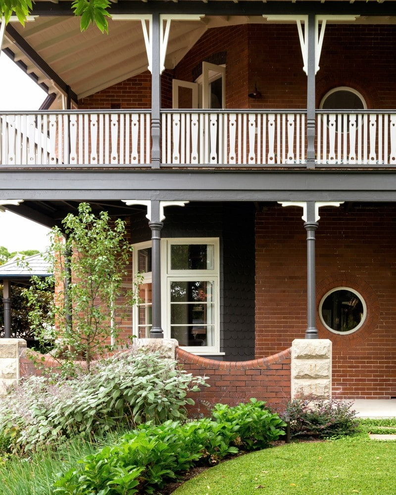 heritage wrap around verandah