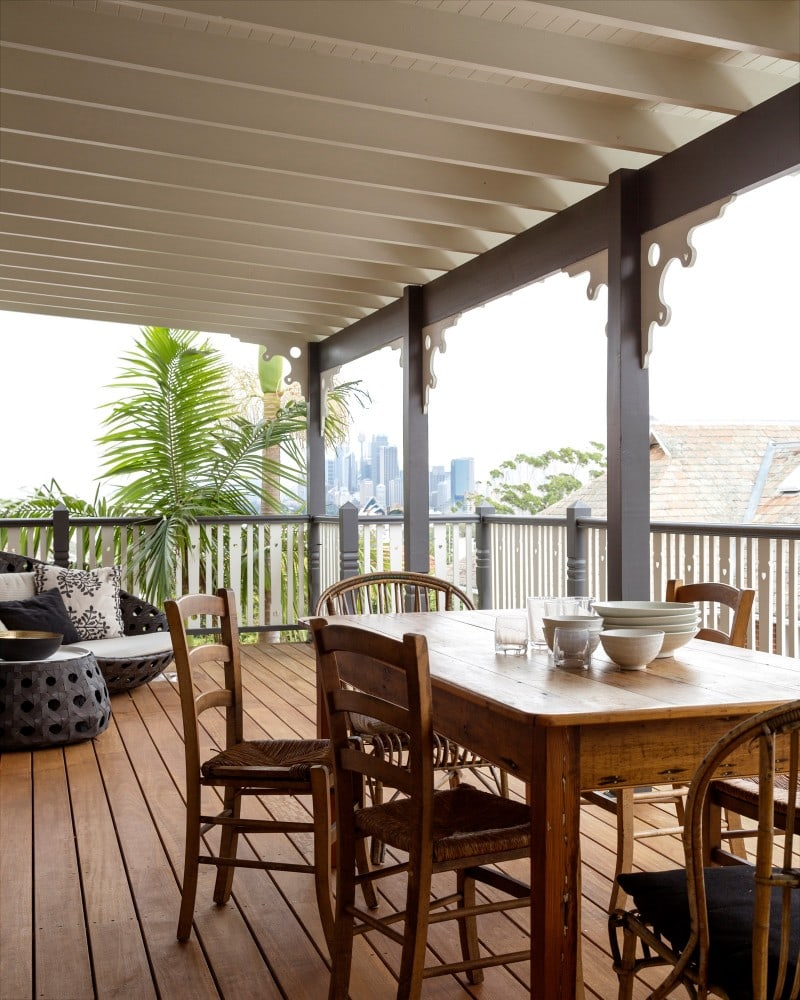 traditional wrap around verandah