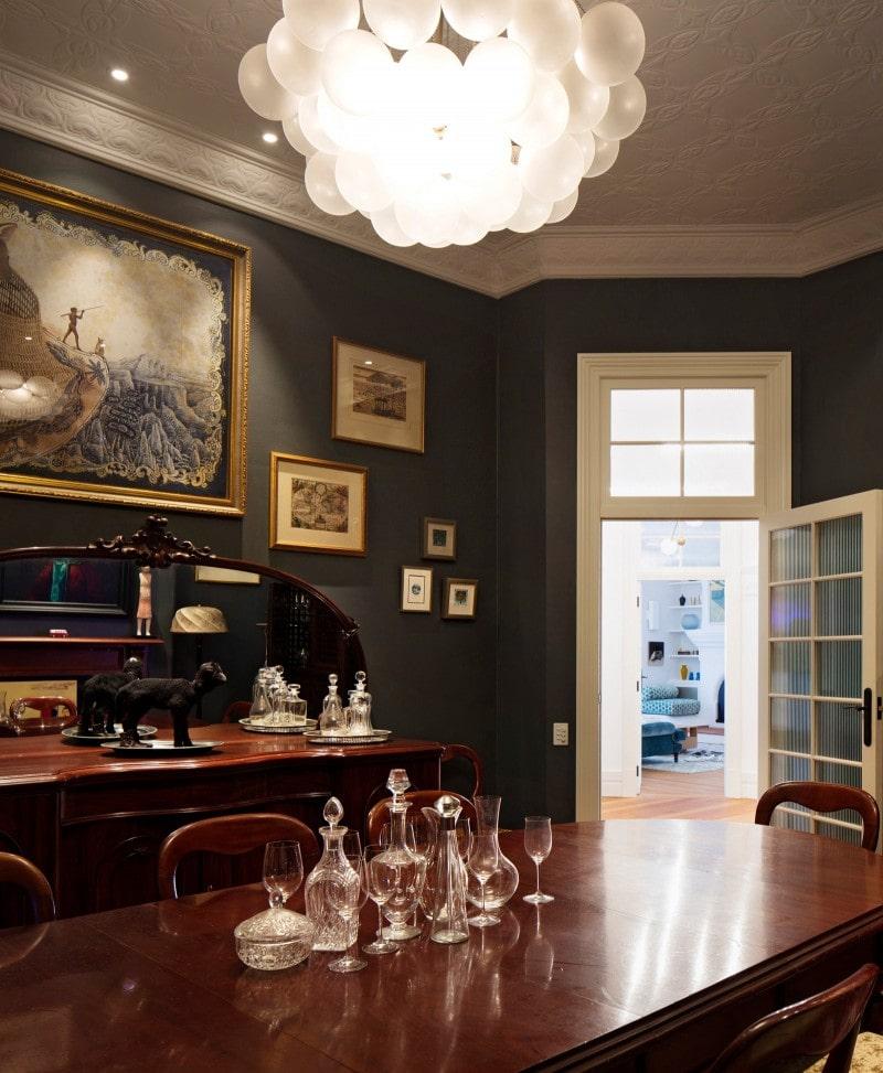 Luigi Rosselli, Formal dining room