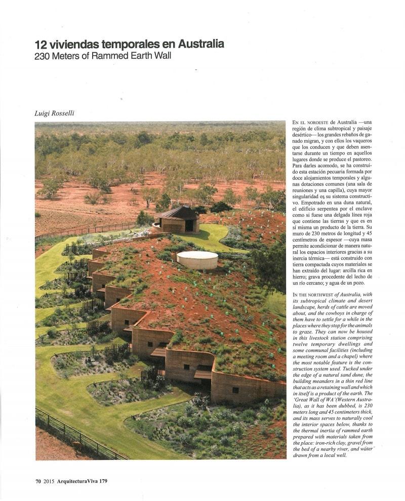Luigi Rosselli Architects | Arquitectura Viva 11/2015