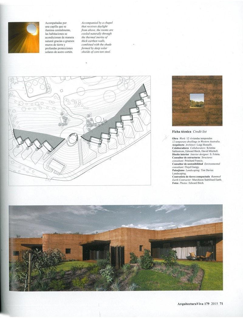 Luigi Rosselli, Rammed Earth, Rammed Earth Wall, Rammed Earth Building, Green Roof