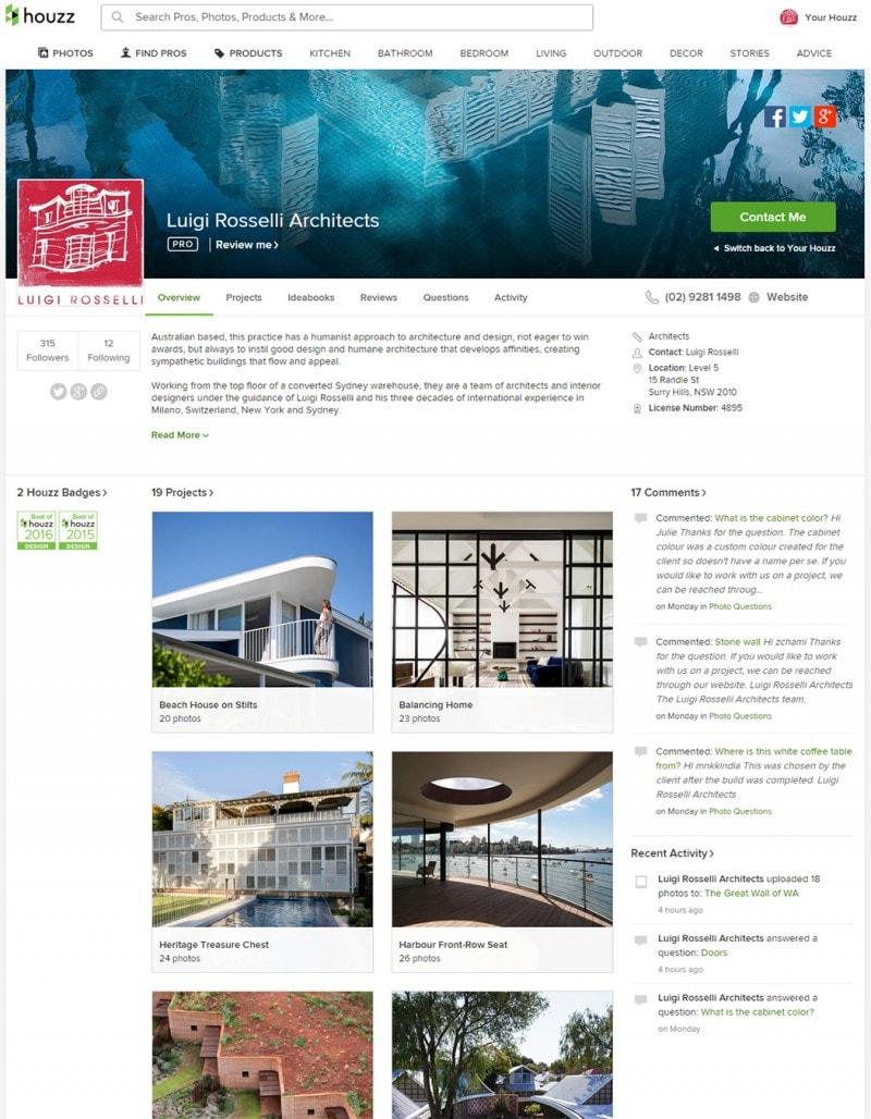 Luigi Rosselli Architects   Best of Houzz 2016