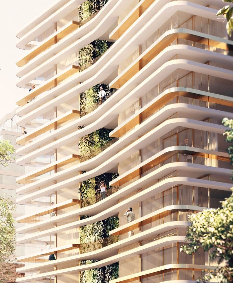 luigi rosselli architects   high rise living in melbourne