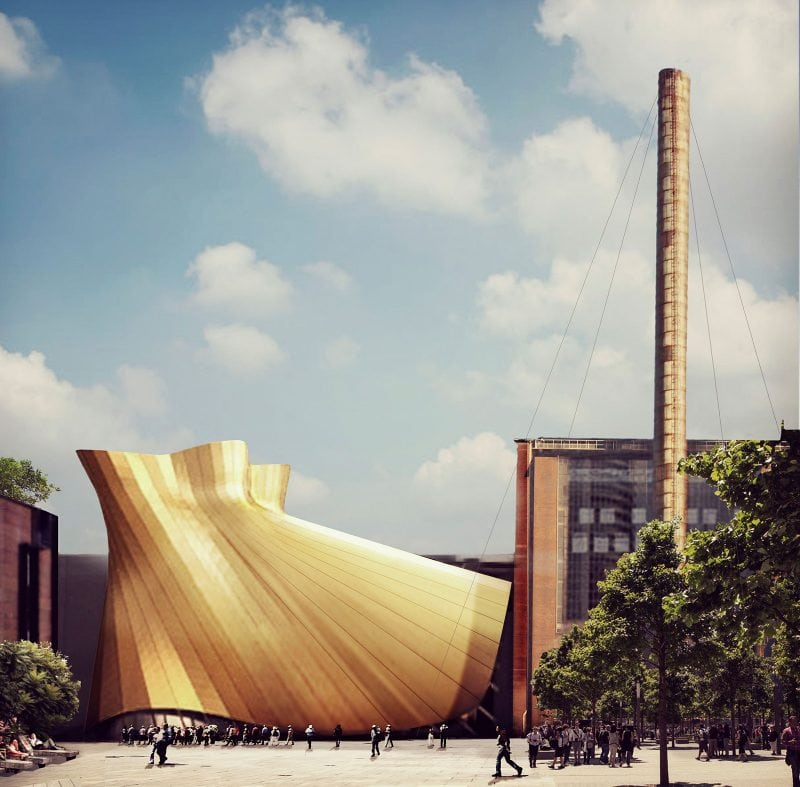Luigi Rosselli, Renewal of Power Station, Boiler House, Architecture Competition, Design, Power Station