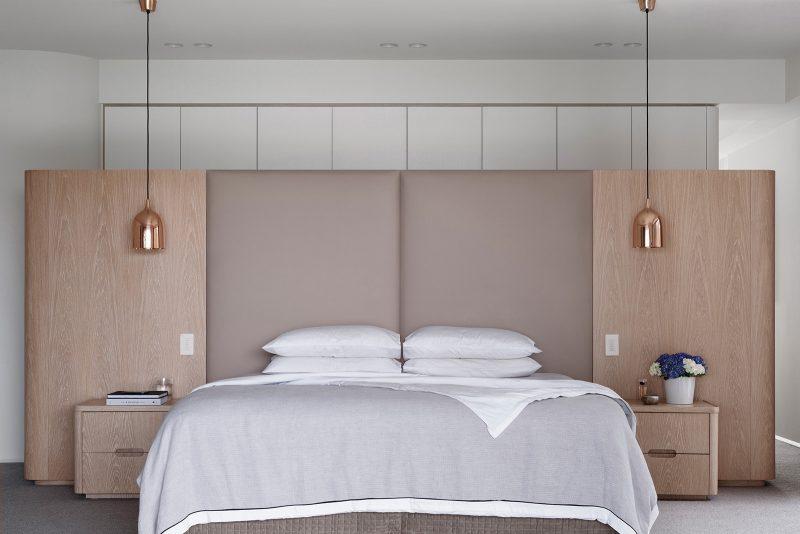 Luigi Rosselli, Bedroom Joinery, Leather Bedhead, Bedhead, Bedrest