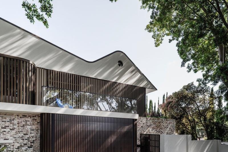 luigi rosselli Luigi Rosselli, Aluminium Screens, Zinc Roofthe new twin peaks