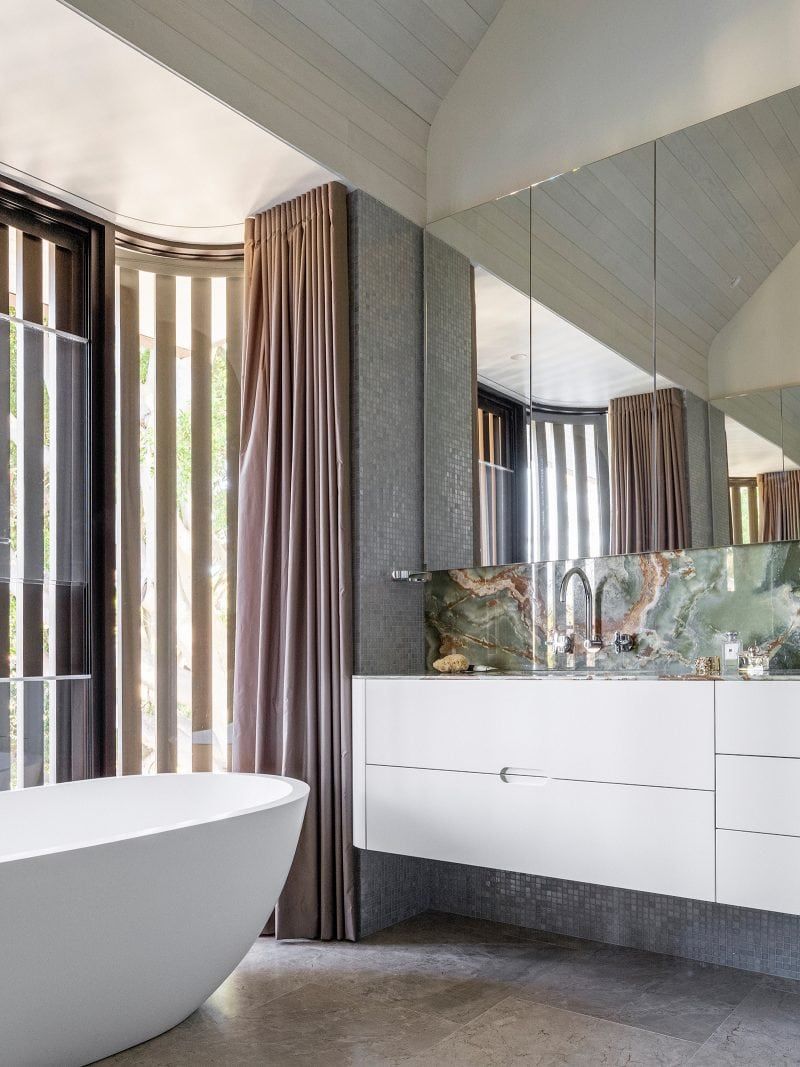 Luigi Rosselli, Bathroom, Custom Joinery