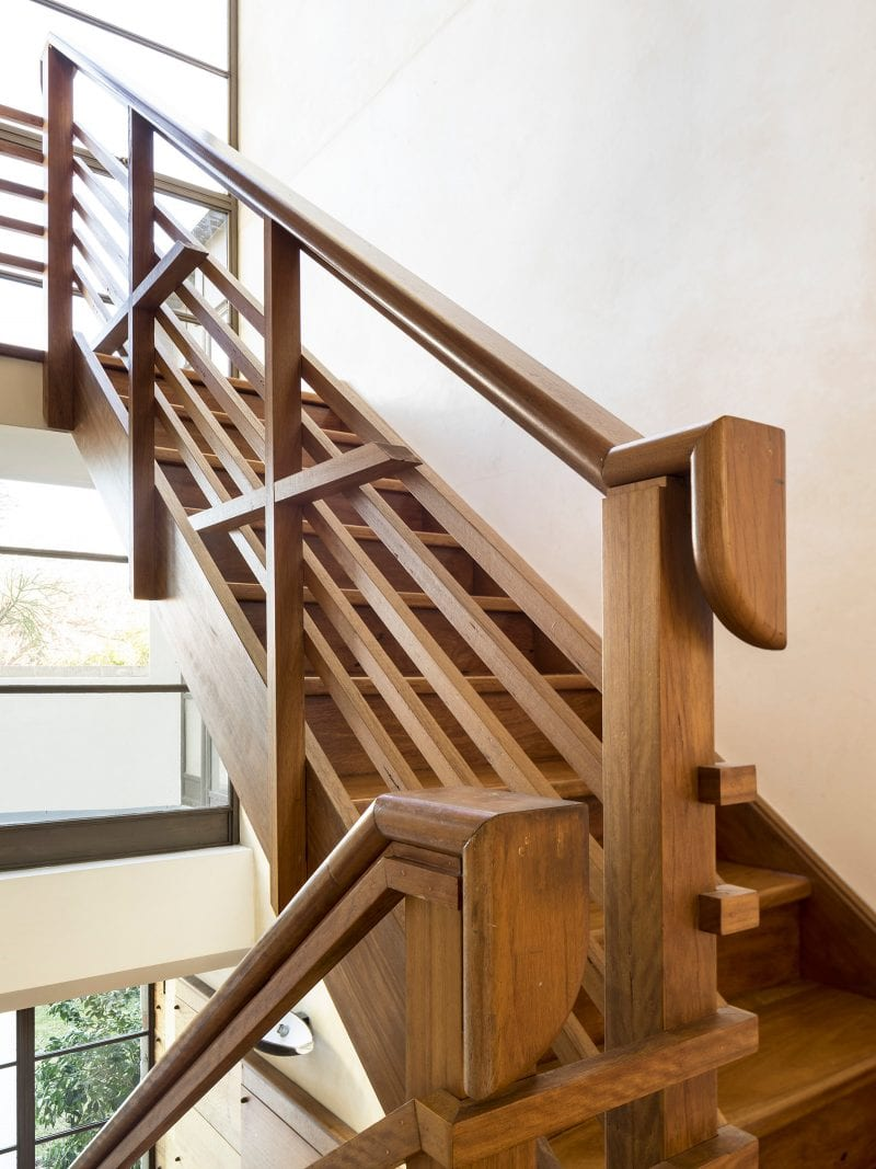Luigi Rosselli, Timber Stair, Blackbutt Timber Stair