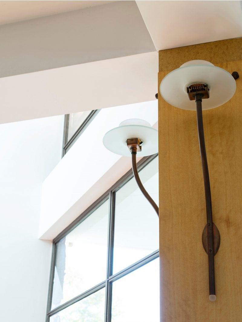 luigi rosselli architects - the first house - custom lighting