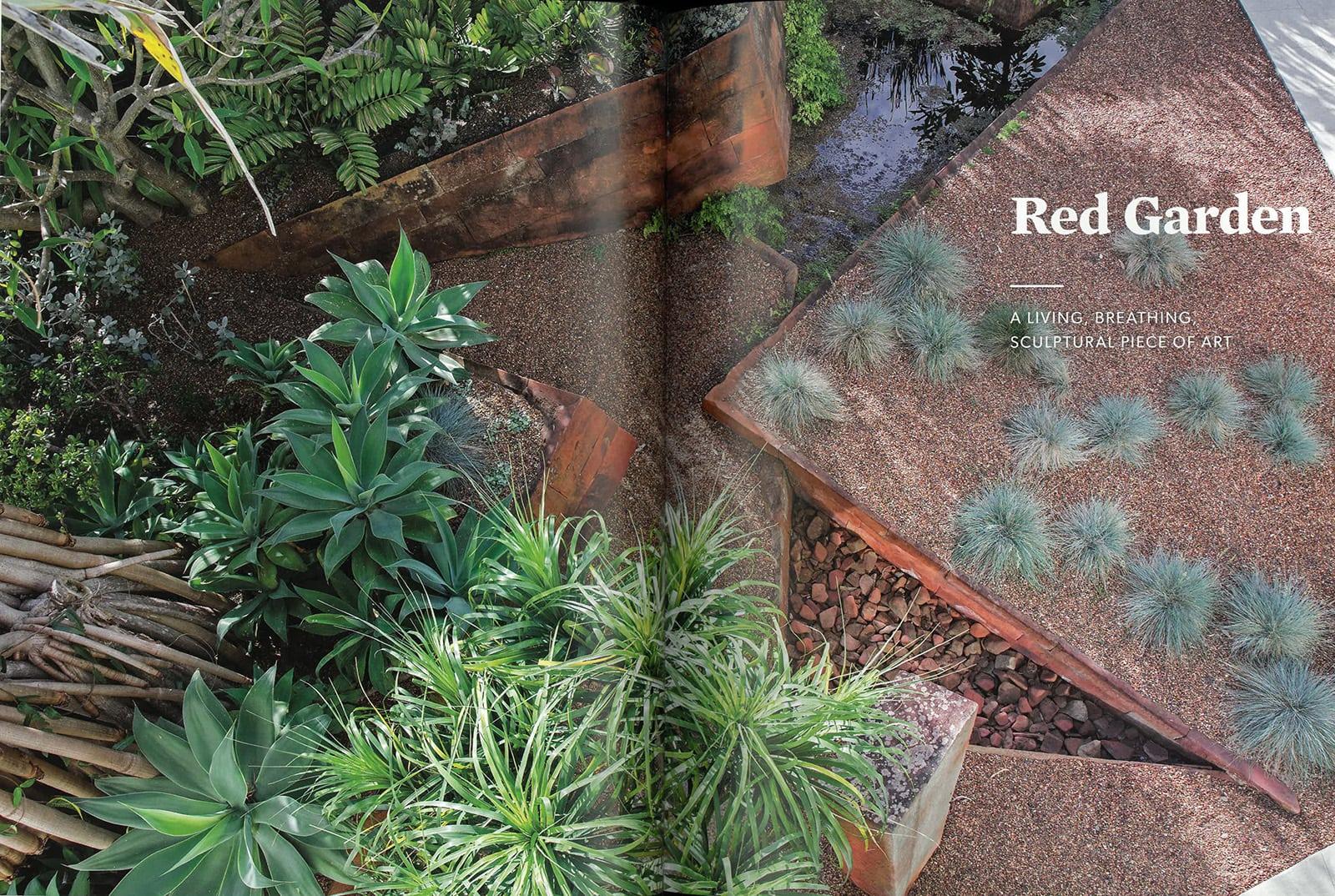 Michael bates landscaper extraordinaire 39 s new book for Landscape design courses adelaide