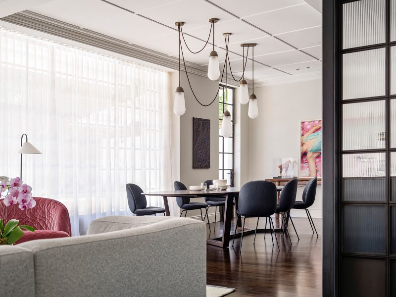 Luigi Rosselli Architects - Raise the Roof - Open plan living and dining room