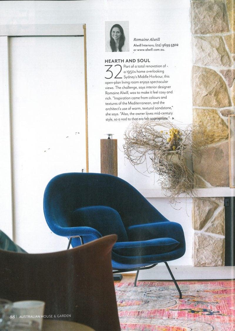 Luigi Rosselli, Stone Wall, Sandstone, Interior Design