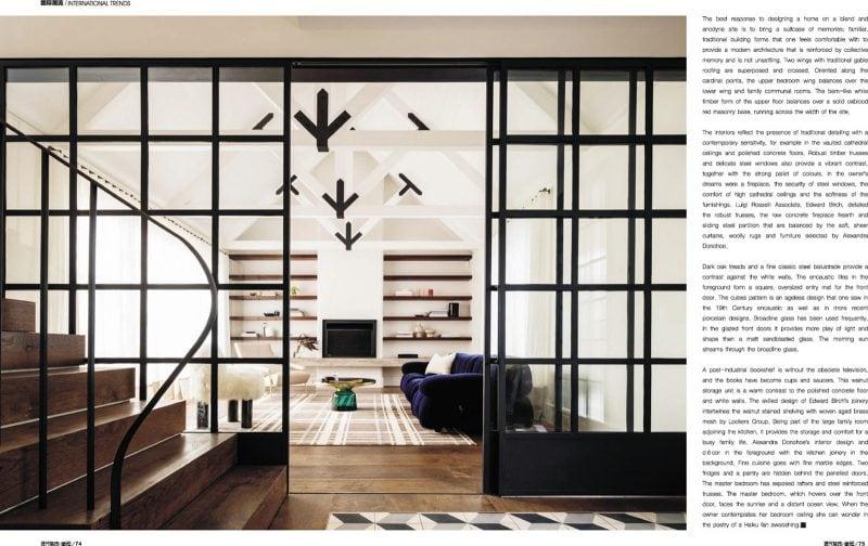 Luigi Rosselli, Sliding Doors, Timber Trusses, Timber Shelves, Timber Stairs