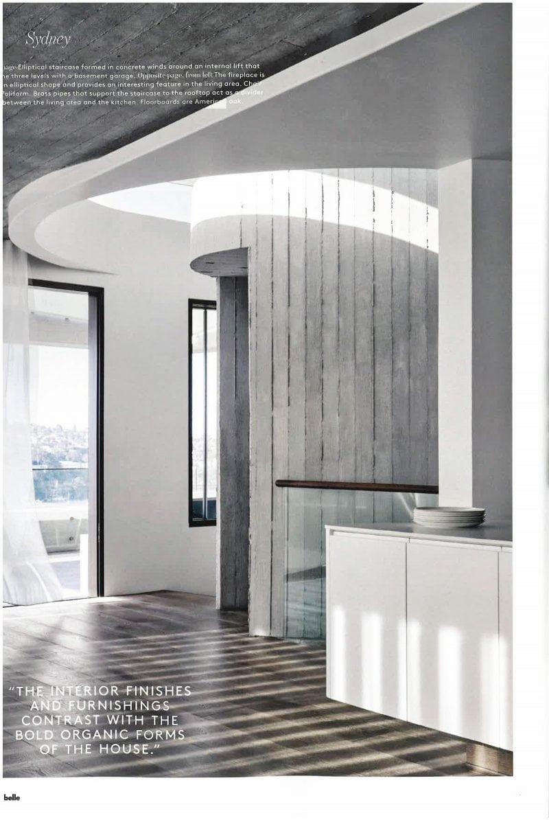 Luigi Rosselli, Concrete Lift, Off Form Concrete