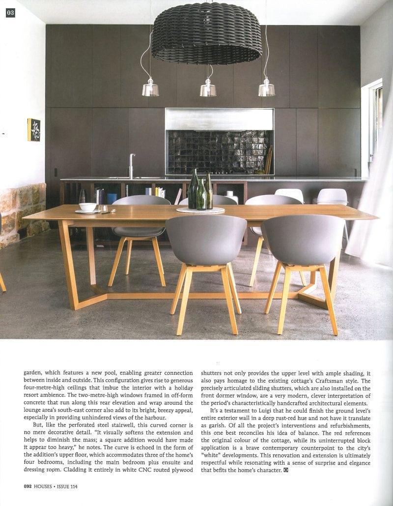 Luigi Rosselli, Kitchen, Kitchen Design