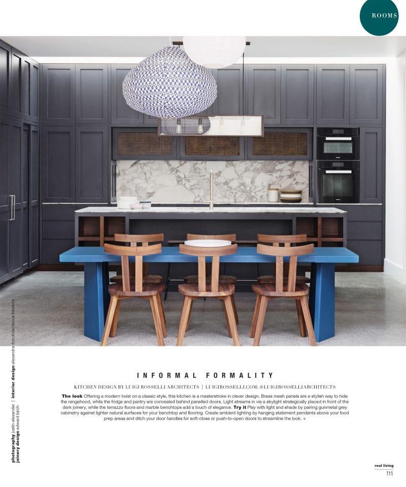 Luigi Rosselli Architects | Real Living Magazine