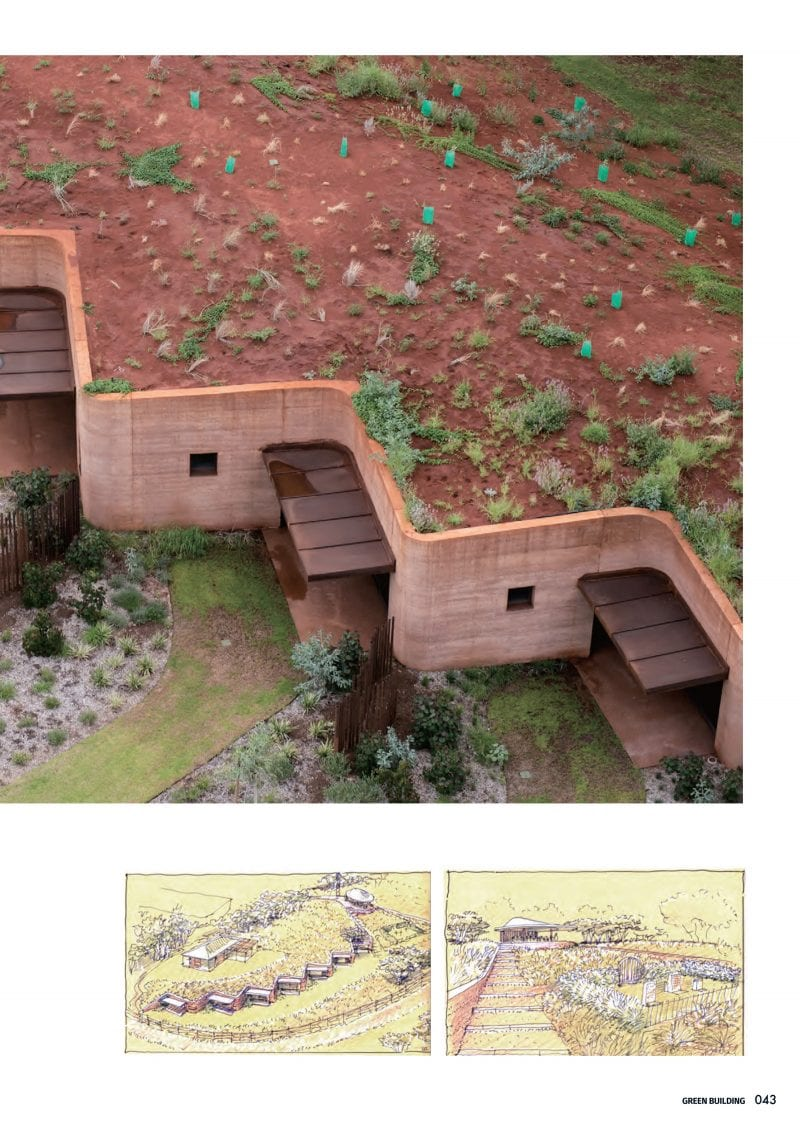 Luigi Rosselli, Rammed Earth, Rammed Earth Buildings, Rammed Earth Walls