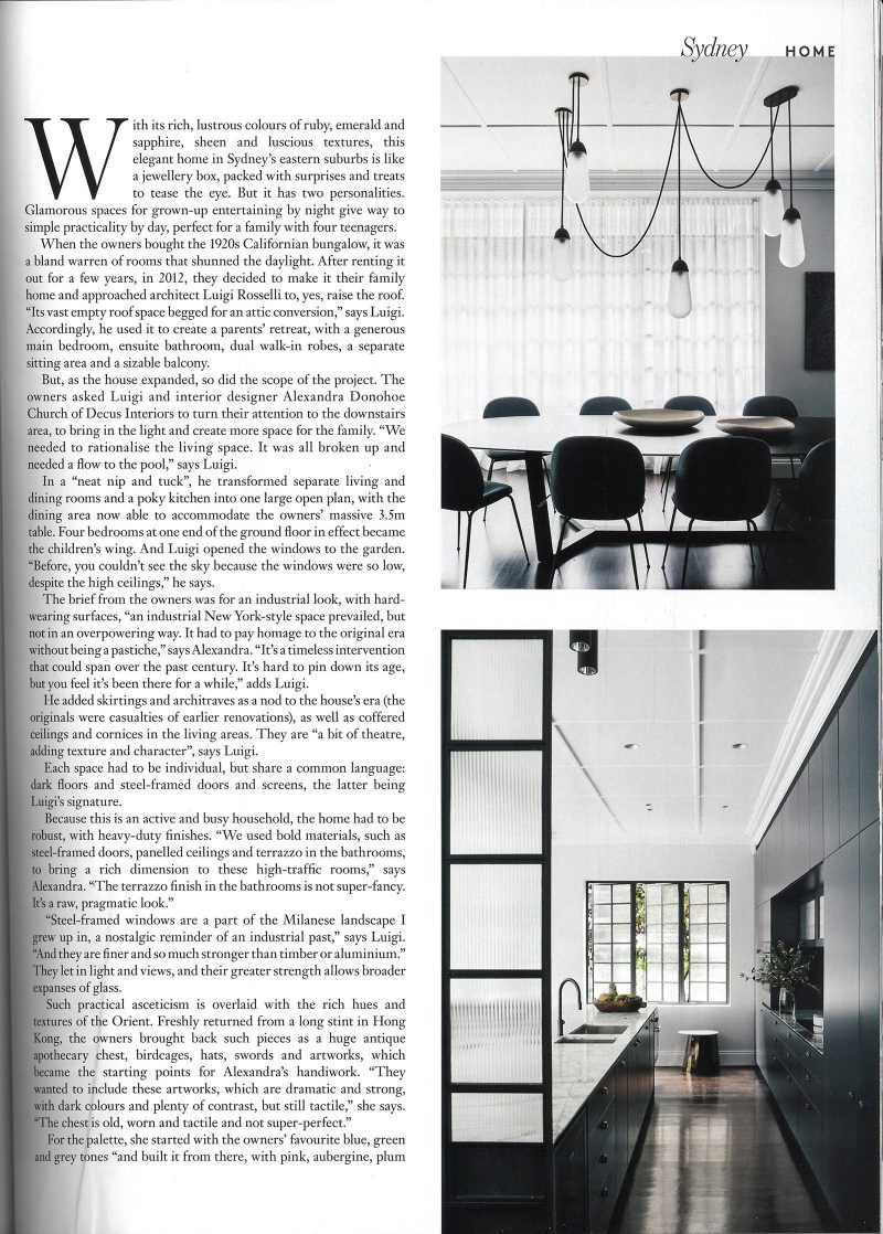 Luigi Rosselli Architects | Belle Magazine