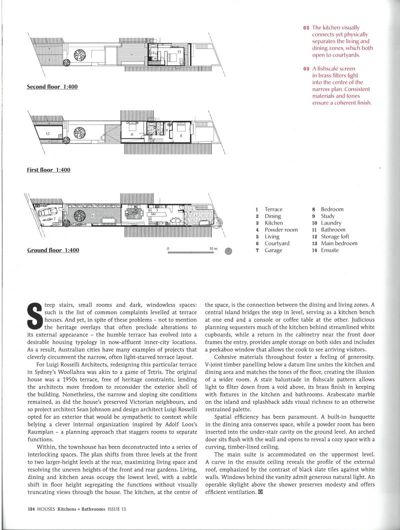 Luigi Rosselli Architects | Bougainvillea House | Houses K&B