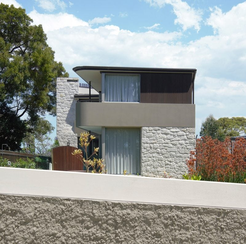 Luigi Rosselli, Stone, Stone Walls, Rendered Walls, Aluminum windows, Timber Cladding, Roughcast, Stone Chimney