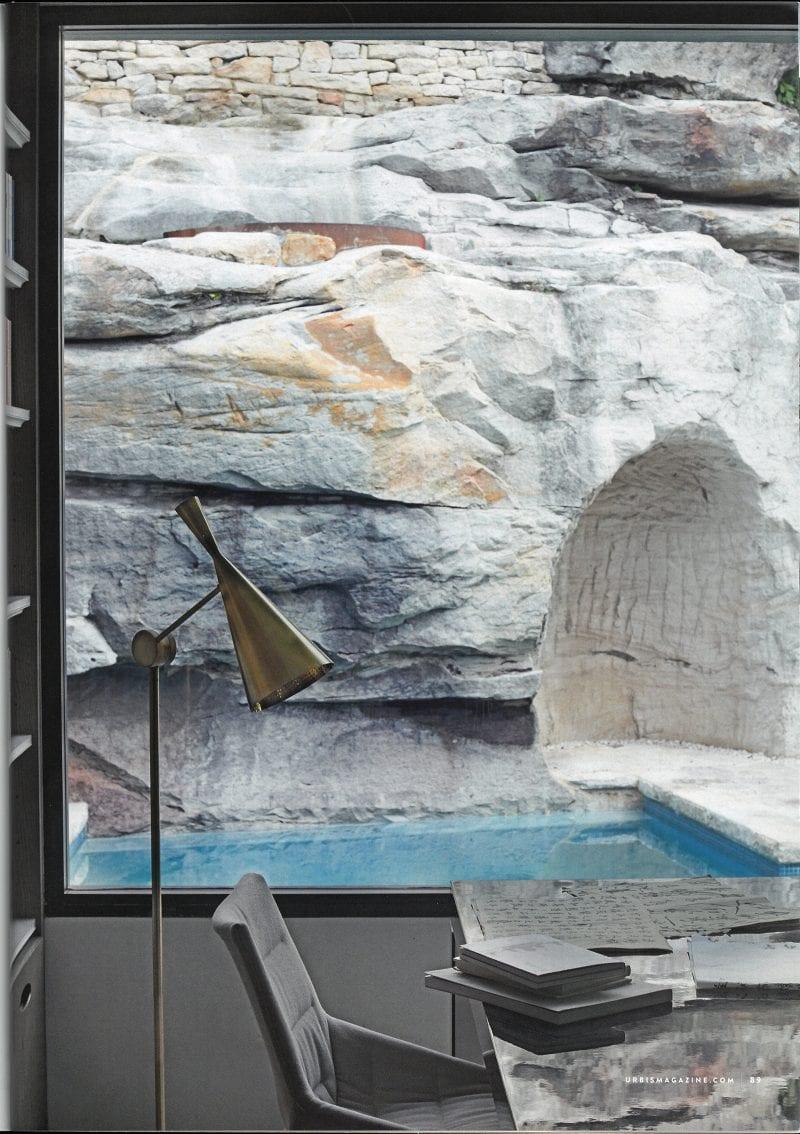 Luigi Rosselli, Sandstone, Swimming Pool, Stone