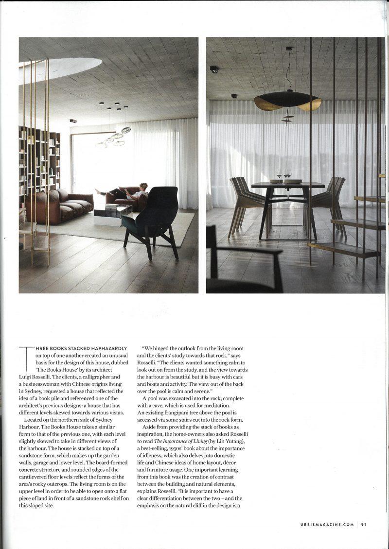 Luigi Rosselli, Living Room, Interior Architecture, Steel Stairs