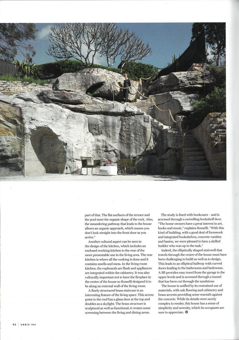 Luigi Rosselli, Stone, Sandstone Steps