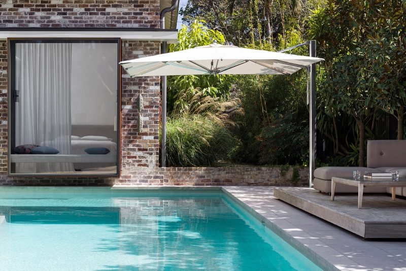 Luigi Rosselli Architects, Swimming Pool, Swimming Pool Deck, Retractable Awning, Brick