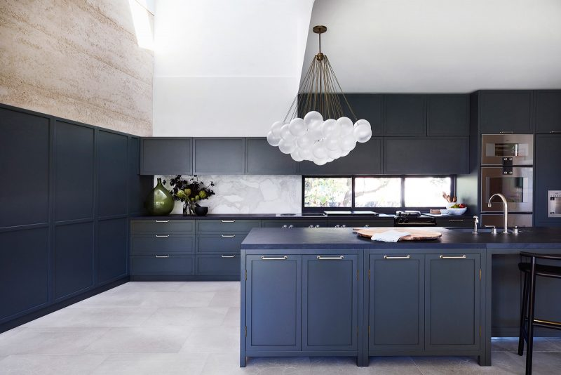Luigi Rosselli, Kitchen Cabinetry, Kitchen Pendant Light, Island Bench