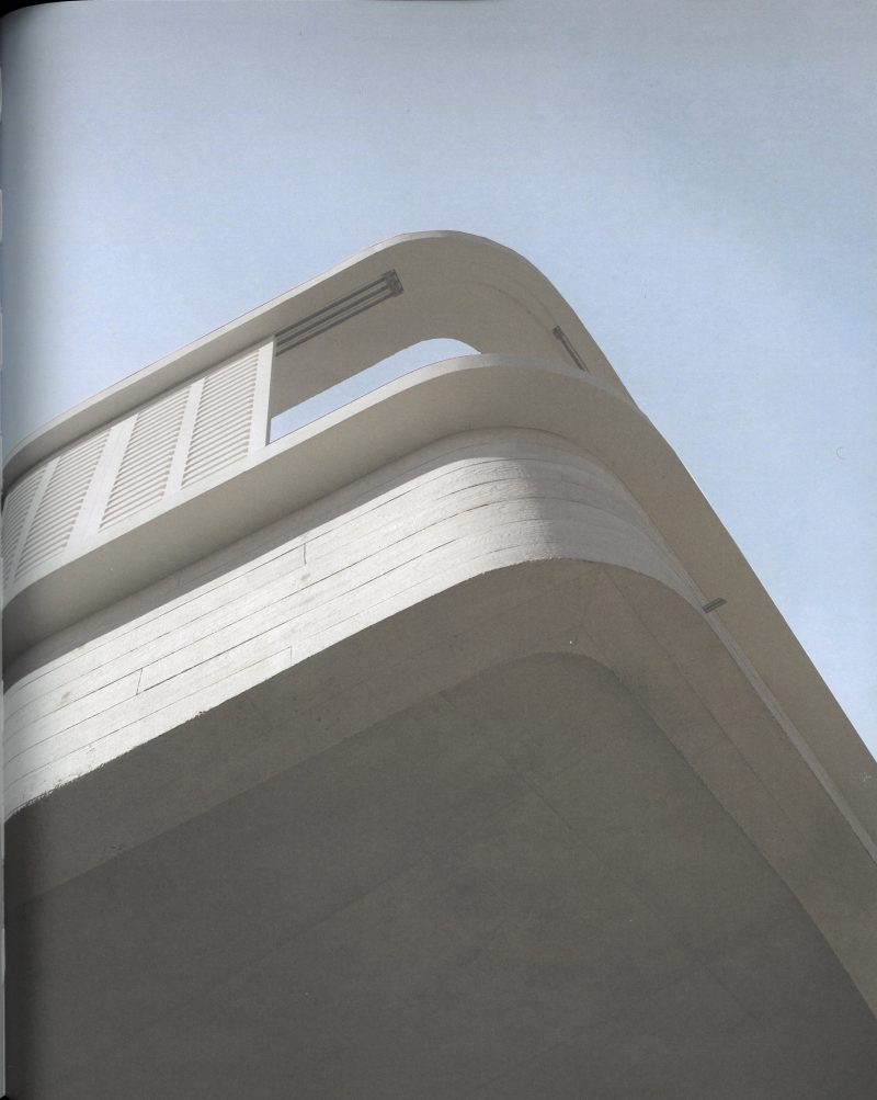 Luigi Rosselli, Concrete, Concrete Cantilever, Timber Shutters