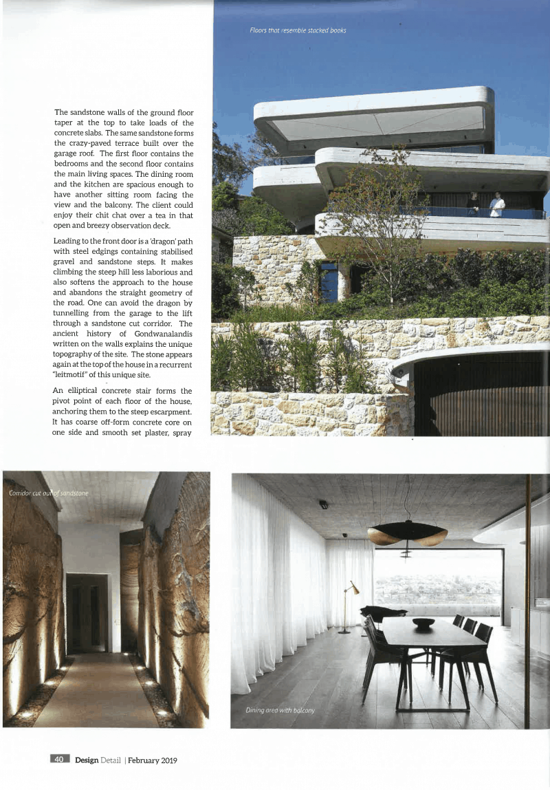 Luigi Rosselli. Concrete, Off Form Concrete, Stone, Sandstone, Sheer Curtains, Concrete Ceiling