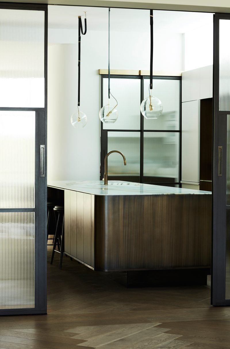 Luigi Rosselli Architects, designed kitchen