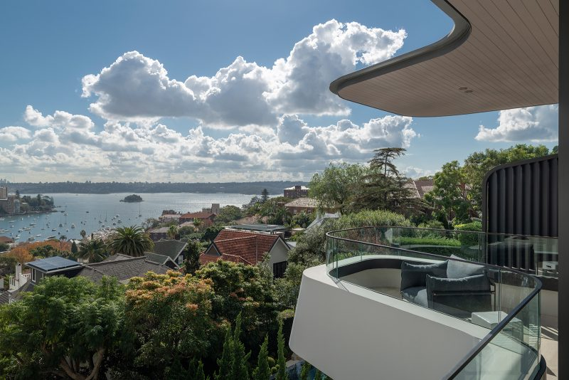 Luigi Rosselli Architects, amazing views, Sydney harbour views, scenic views, glass balustrade, terraces, Woollahra house, Sydney house, Sydney architecture, Woollahra architecture