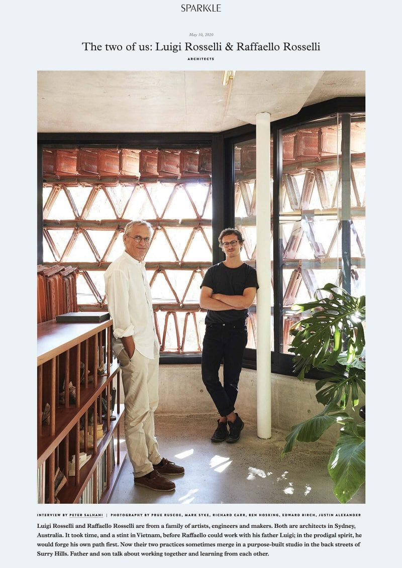 The two of us - Luigi Rosselli & Raffaello Rosselli