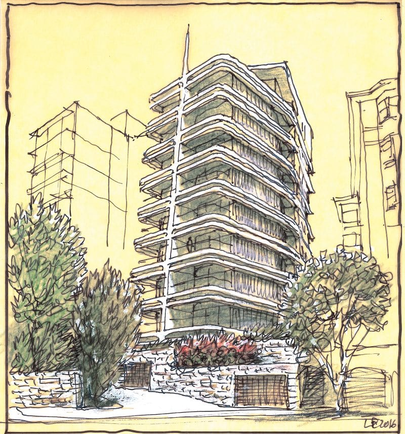 luigi rosselli architects pointe living LR sketch01