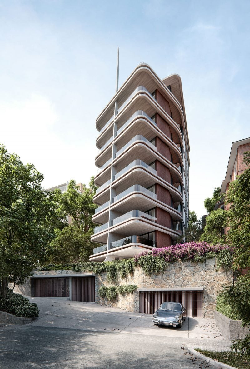 Pointe Living Luigi Rosselli Architects Edgecliff Residential Tower